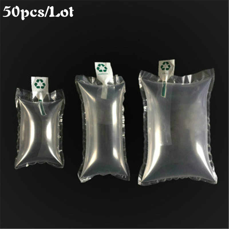 50 Pcs Paket Buffer Bag Inflatable Air Kemasan Bubble Bantal Bungkus Tas Udara Bantal Ukuran Gelembung Kantong Shockproof