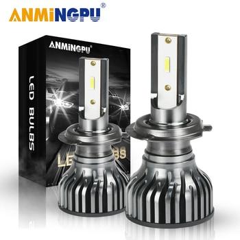 maxgtrs car led headlight h4 h7 h11 h8 9005 hb3 9006 hb4 9012 h16 8000lm auto headlamp fog lighting drl bulbs 6000k plug ANMINGPU Car Headlight Bulbs 50W 12000/LM H7 Led Bulbs H11 H8 H9 H4 Led Headlight 9005/HB3 9006/HB4 9012/Hir2 Led Auto Headlamp