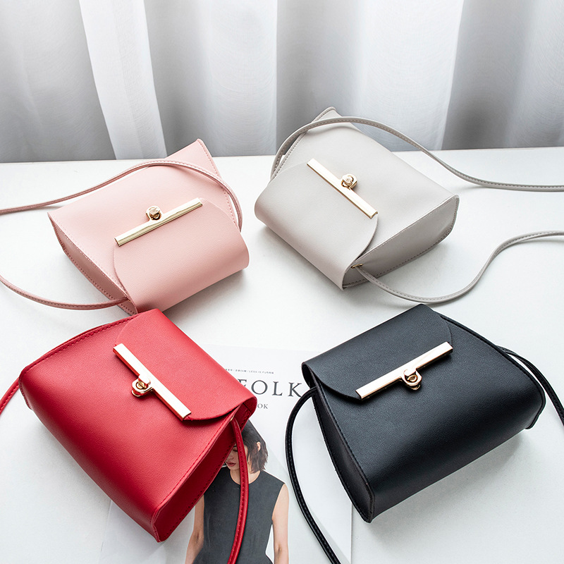 New Personalized Small Square Bag 2019 Autumn Fashion Women One Shoulder Slant Straddle Portable