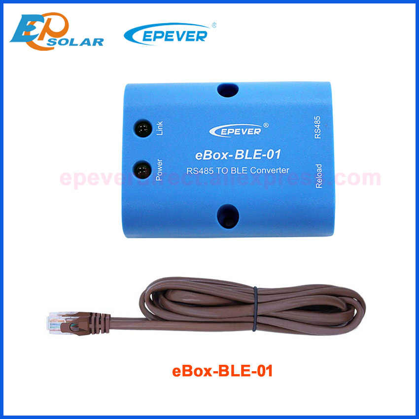 EPSOLAR pudełko WIFI Bluetooth Box mobilna aplikacja na telefon użyj dla EPEVER kontroler słoneczny komunikacja eBox-WIFI-01 eBox-BLE-01MT50 remot