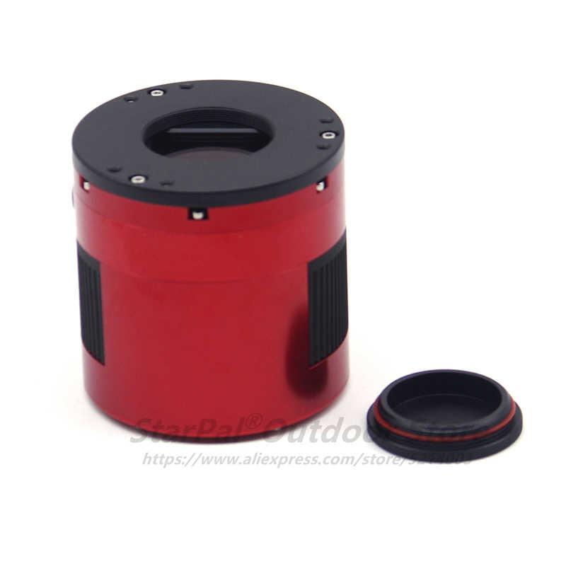 ZWO ASI071MC Pro APS-C с воздушным охлаждением Цвет Пособия по астрономии Камера Аси фотофоны насыщенное небо изображений (256MB DDRIII буфера) Высокое Скорость USB3.0 Аси 071MC Pro