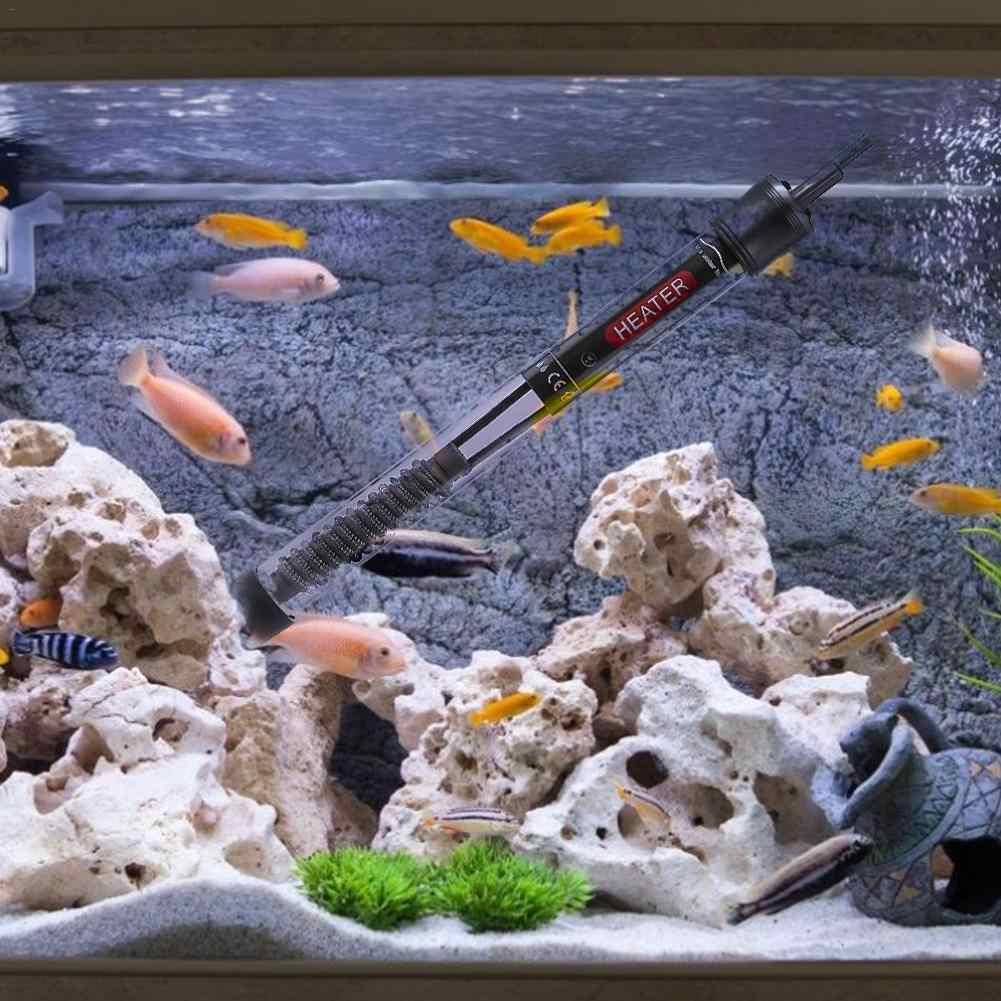 ÂU/MỸ Cắm 110 V/220 V 50 W/100 W/200 W/300 W bể cá cảnh Nóng Làm Nóng Cần Bể Cá Tự Động Điều Chỉnh Nhiệt Kính Mâm Nhiệt