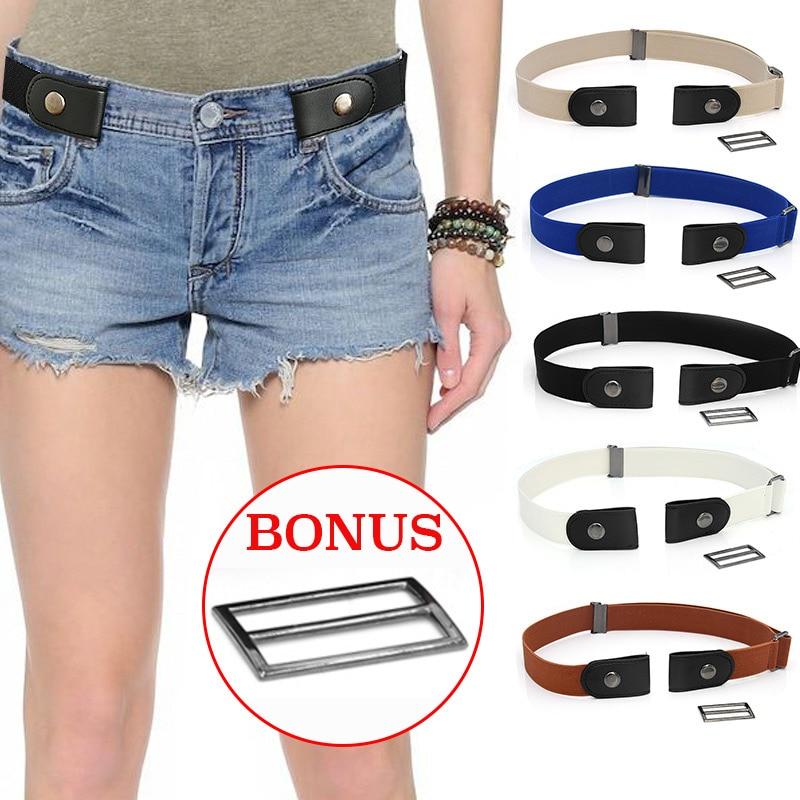 Easy Belt Without Buckle Elastic Waist Belts For Women Fashion Stretch Riem Men Jeans Belt Kids Boys Girls Cinturones Para Mujer