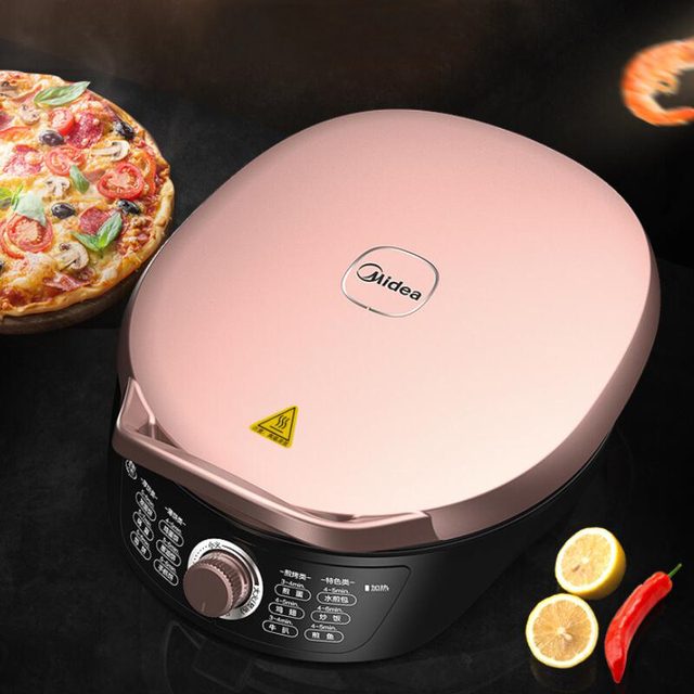 Grill for Home BBQ Kitchen Appliances Barbecue Machine Grill Electric Hotplate Smokeless Grilled Meat Pan Knob Appliances