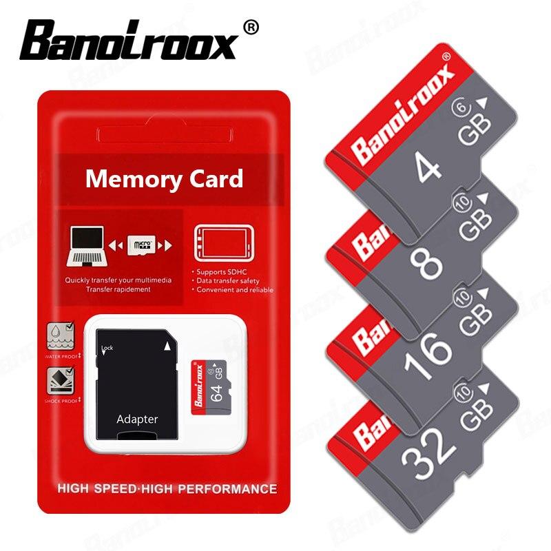 Cartão de memória 100% original class10, 128gb 64gb 32gb 16gb 8gb cartão micro sd cartões mini tf gb c6 microsd, adaptador