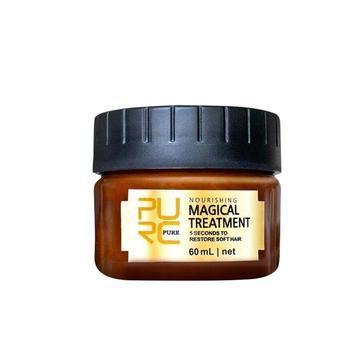 цена Deep Repair Hair Mask Nutrition Smooth Conditioner Free Steam Cleansing Hair Blemish Hot Dyeing Moisturizing Oil Conditioner онлайн в 2017 году