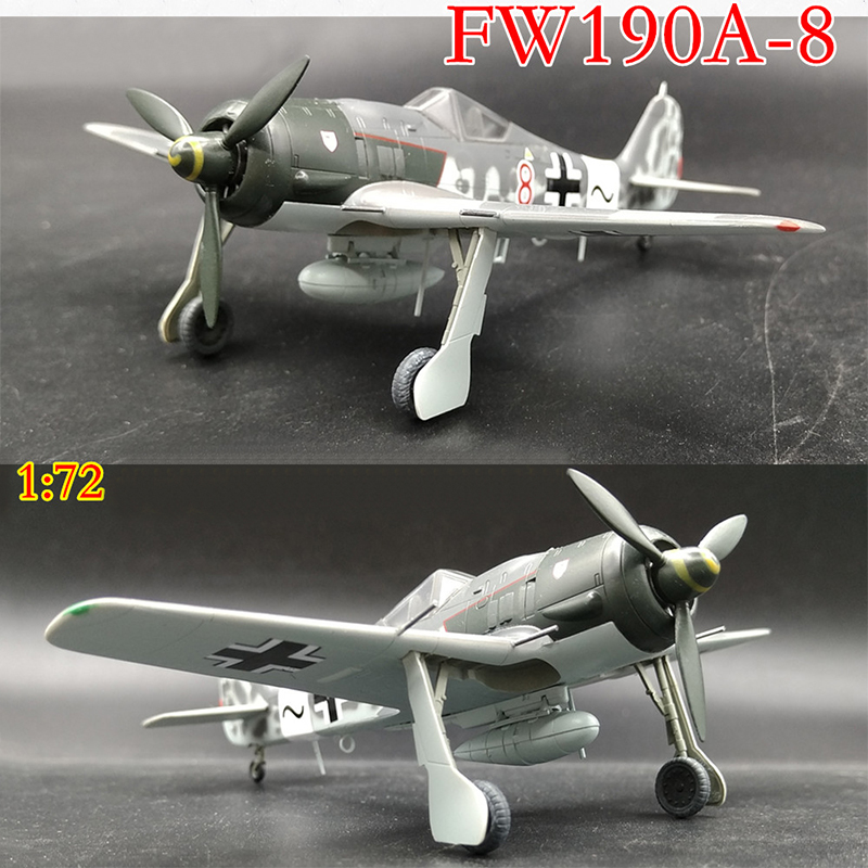 Trumpeter  1/72  German Fw190 A-8 Fighter  36364 Finished Product Model
