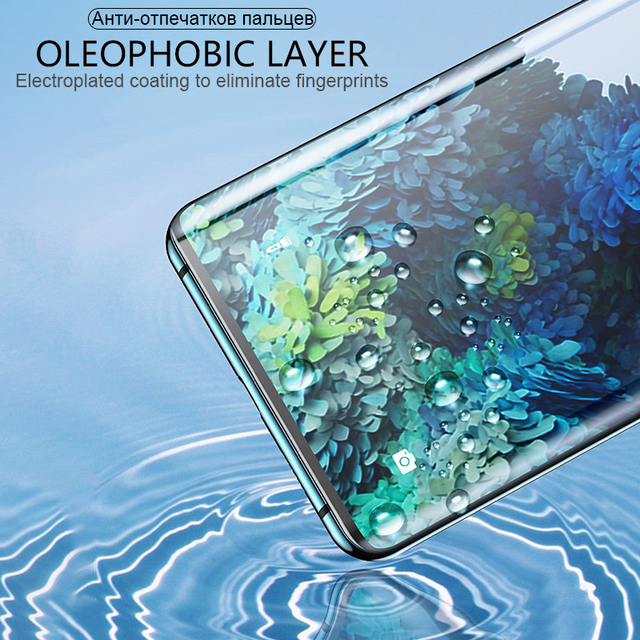 Tempered Glass For Samsung Galaxy Note20 Ultra S10 E S9 S8 S20 S21 Plus Screen Protector Note 20 S 21 10 9 8 S10E S 20 5G Film 4