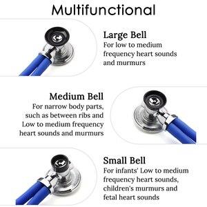 Image 4 - רב תכליתי רופא סטטוסקופ קרדיולוגיה רפואי סטטוסקופ מקצועי רופא אחות רפואי ציוד רפואי מכשירים