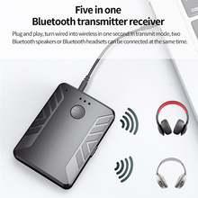 Bluetooth 50 аудио передатчик приемник компьютер ноутбук динамик