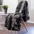 Одеяло CANIRICA  покрывало из искусственного меха  супер мягкое пушистое толстое одеяло  роскошное уютное теплое пушистое плюшевое покрывало д...