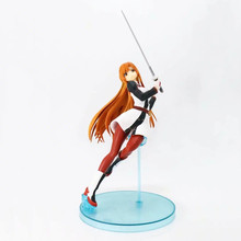 Anime Sword Art Online Asuna A Ver PVC Action Figure Collectible Model doll toy 18cm 2017 anime legend of zelda link with skyward sword figma 153 pvc action figure collection model kids toy doll brinquedos