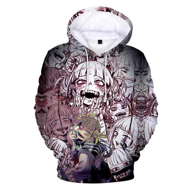 3D HIMIKO TOGA THEMED HOODIE (13 VARIAN)
