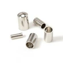 50 шт нержавеющая сталь шнур заглушки подходит 2/3/4/5 мм кожаные