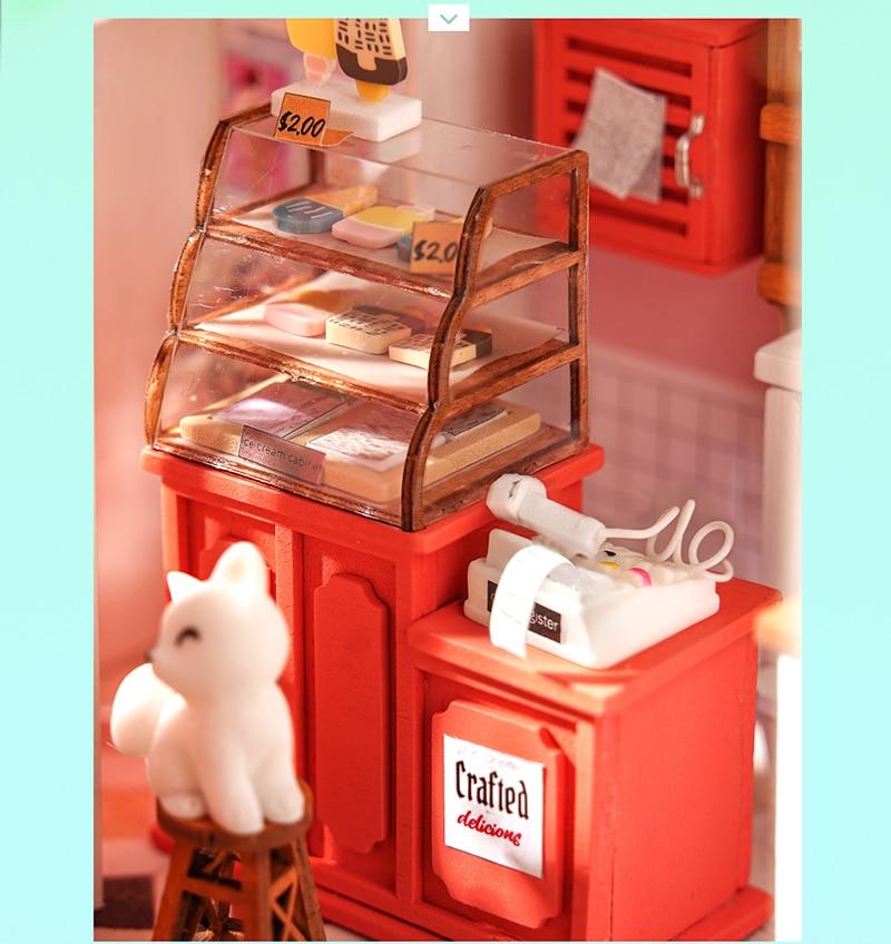 Rolife DIY Miniature Dollhouse - Leisure Time Series DG146-DG148
