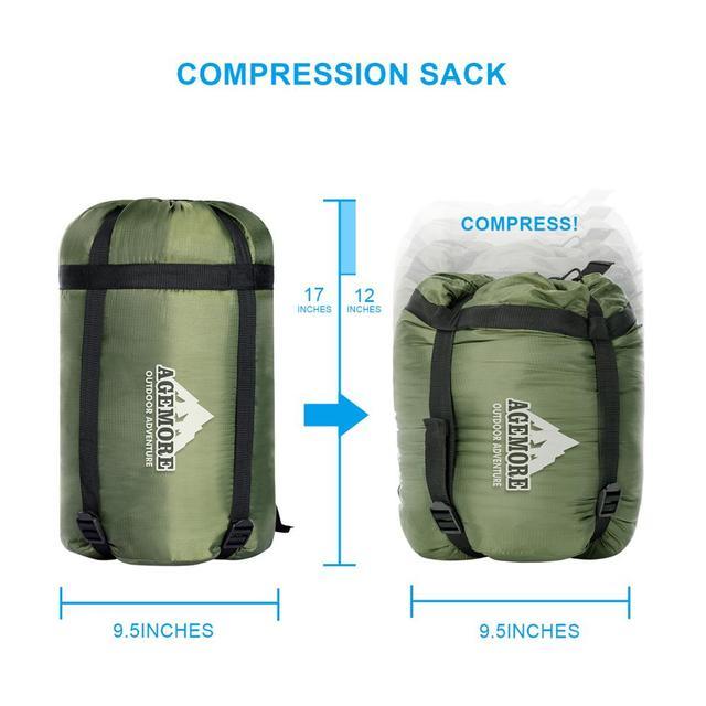 Agemore 220x80cm Envelope Winter Sleeping Bag Electric Heating Camping Sleeping Bag Outdoor Traveling Sleeping Bag Waterproof 4