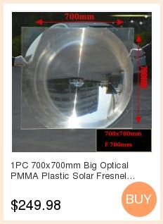 lente fresnel solar distância focal 600mm projetor