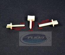 10pcs lot Nylon Plastic Bolt Hand Thumb Screw M4 M5 M6 For RC Airplane Flight Model