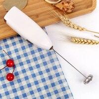 Batidor de huevos ABS para el hogar, batidor de leche y café, agitador eléctrico, herramientas de horneado, suministros de cocina