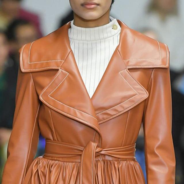 Women's Long Coat - Sugar Almond - 2 Colors 1