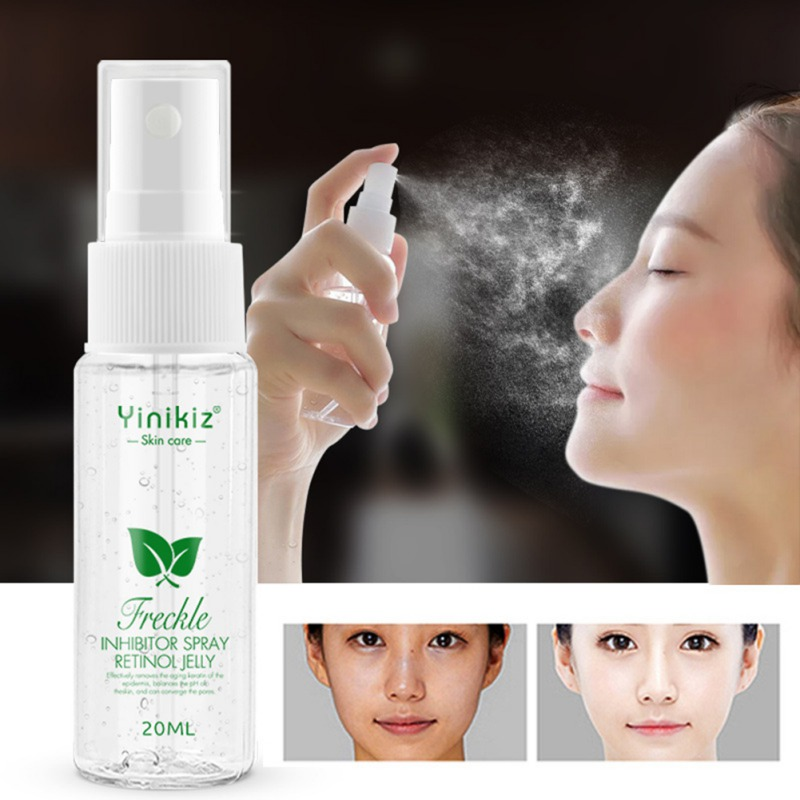 Hot Freckle Removal Serum Moisturizing Lightening Pigment Brighten Skin Color Anti-aging Spray Long Lasting 2020