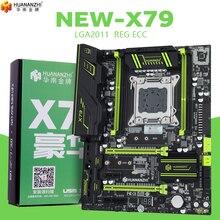 Материнская плата HUANANZHI X79 golden LGA2011 ATX USB3.0 SATA3 PCI E NVME M.2 SSD поддерживает память REG ECC и процессор Xeon E5