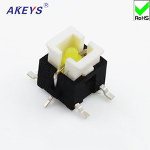 10PCS TS-H003 Taktile Schalter Mit LED SMD Typ 6*6*7,2 H Druck Control Switch(China)