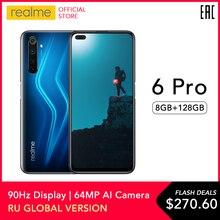 realme 6 Pro Global Version Mobile Phone 8GB RAM 128GB ROM 6