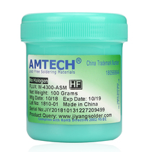 W-4300-ASM water-soluble welding cream AMTECH original 100G Welding flux Soldering paste
