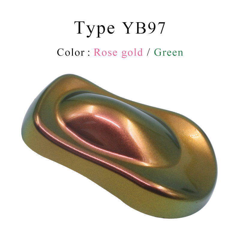 YB97 Chameleon Pigments Acrylic Paint Powder Coating Dye For Chameleon Markers Car Painting Decoration Arts Crafts Nail 10g