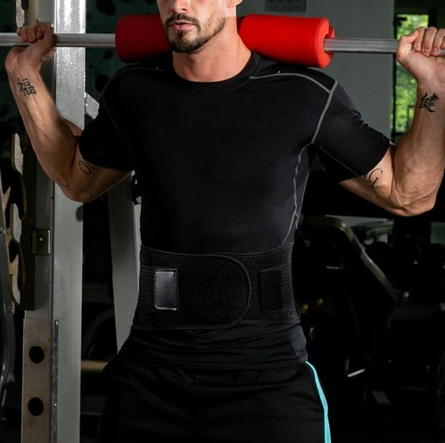 Sport Waist Support belt Weightlifting Protective Gear Waist Fitness Beltback Belt Neoprene waist trimmer fitness sweat belt 1