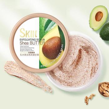100g Face Body Skin Scrub Deep Cleansing Face Scrub Exfoliating Hydrating Scrub Cream Mud Exfoliating Gel Body Lotion 1
