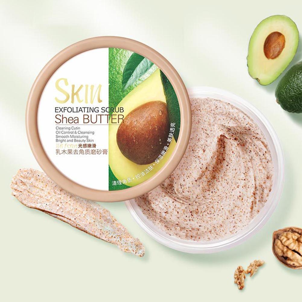 100g Face Body Skin Scrub Deep Cleansing Face Scrub Exfoliating Hydrating Scrub Cream Mud Exfoliating Gel Body Lotion
