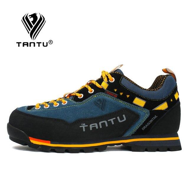 TANTU Waterproof Hiking Shoes Mountain Climbing Shoes Outdoor Hiking Boots Trekking Sport Sneakers Men Hunting Trekking 2