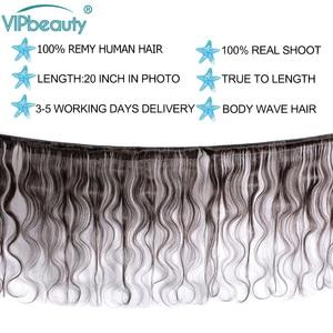Image 2 - VIP Beauty перуанские волнистые 100% натуральные кудрявые пучки волос 10 28 дюймов натуральный цвет 1B remy волосы для наращивания Бесплатная доставка