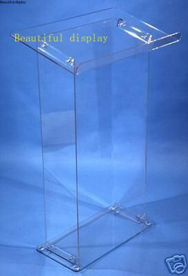 Clear Acrylic Podium Plexiglass