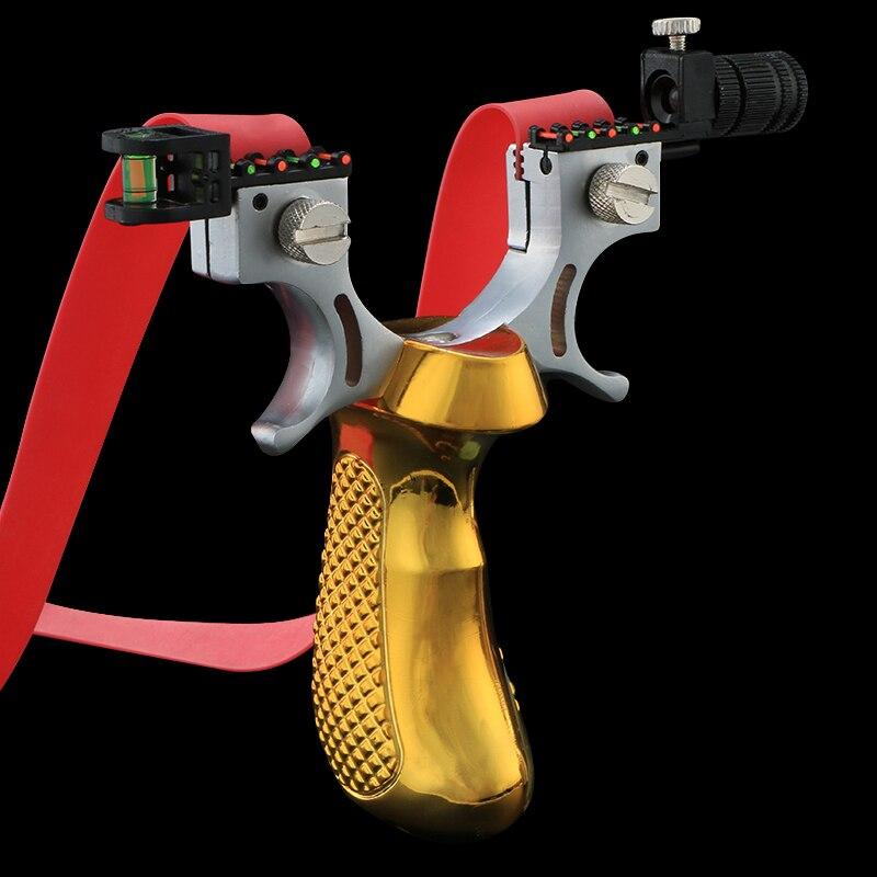 Fronde Laser avec bande en caoutchouc, haute précision, 98K, catapulte de tir puissante pour jeu de chasse en plein air 5