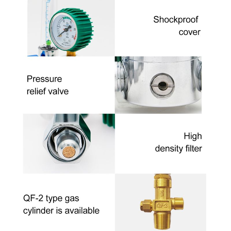 medidor de fluxo inalador medidor de pressão para inalação g5 8 atacadista