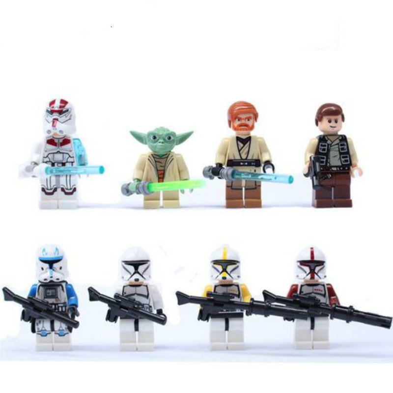 Star Wars Small Particle Building Blocks Yoda Baby Building Block Compatible With Star Wars Children's Educational Toys