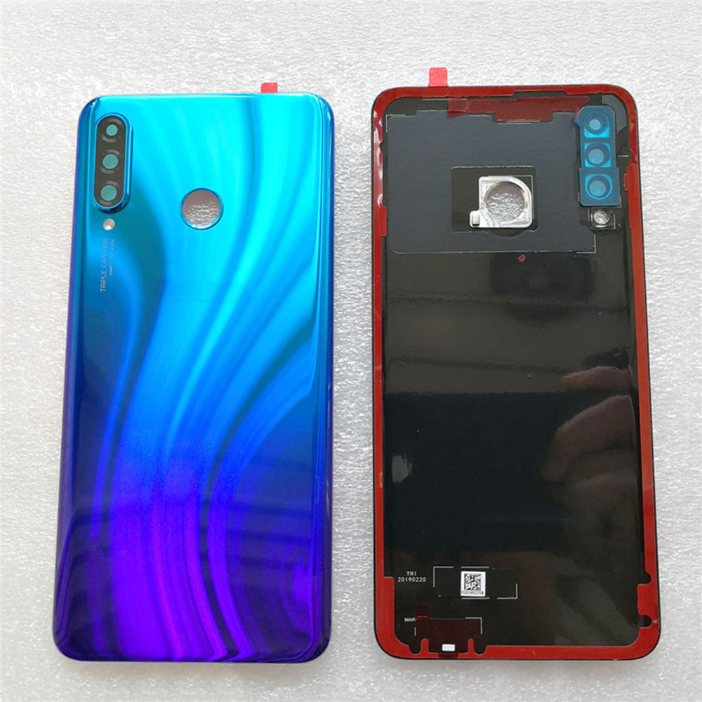 Battery Back Cover Case For Huawei P30 Lite Phone Housing Glass Shell Case Battery Cover For Huawei P30 Lite Replacement Parts