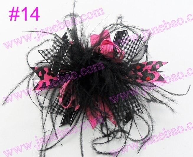 140 шт перо волосы банты девушка забавные, для волос банты, бутик девушка волосы банты