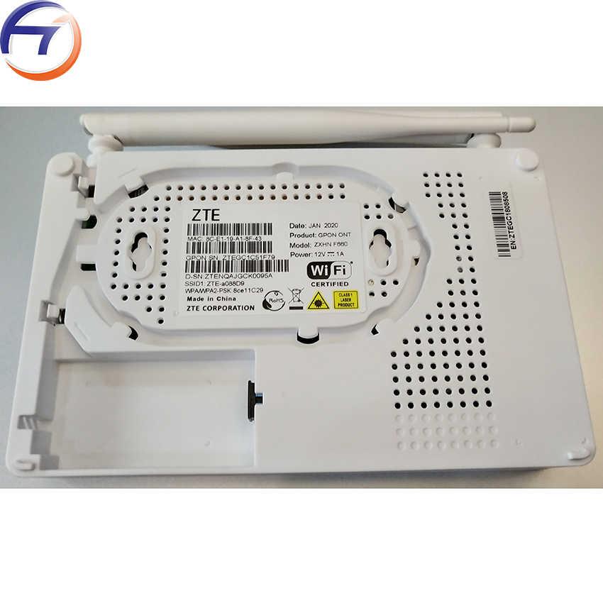 新とオリジナル zte F660 8.0 1GE + 3FE + 無線 lan + 1 音声、英語版