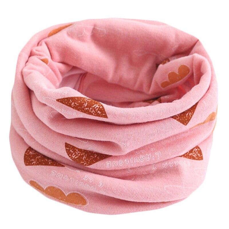 Весенний детский хлопковый шарф, теплый шарф для маленьких детей, осенне-зимние шарфы с героями мультфильмов для мальчиков и девочек, детский воротник с круглым вырезом, волшебный шейный платок - Цвет: 58