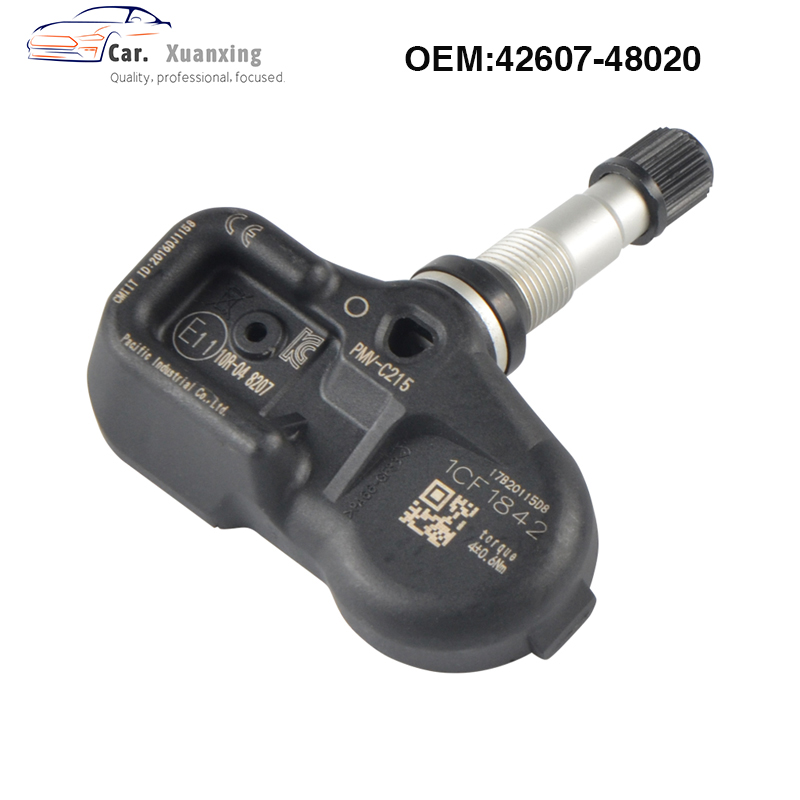 OEM 4260748020 Tire Pressure Sensor Monitoring System 433MHz PMV-C215 ForToyota Land Cruiser Prado C-HR Camry Lexus LX ES LC
