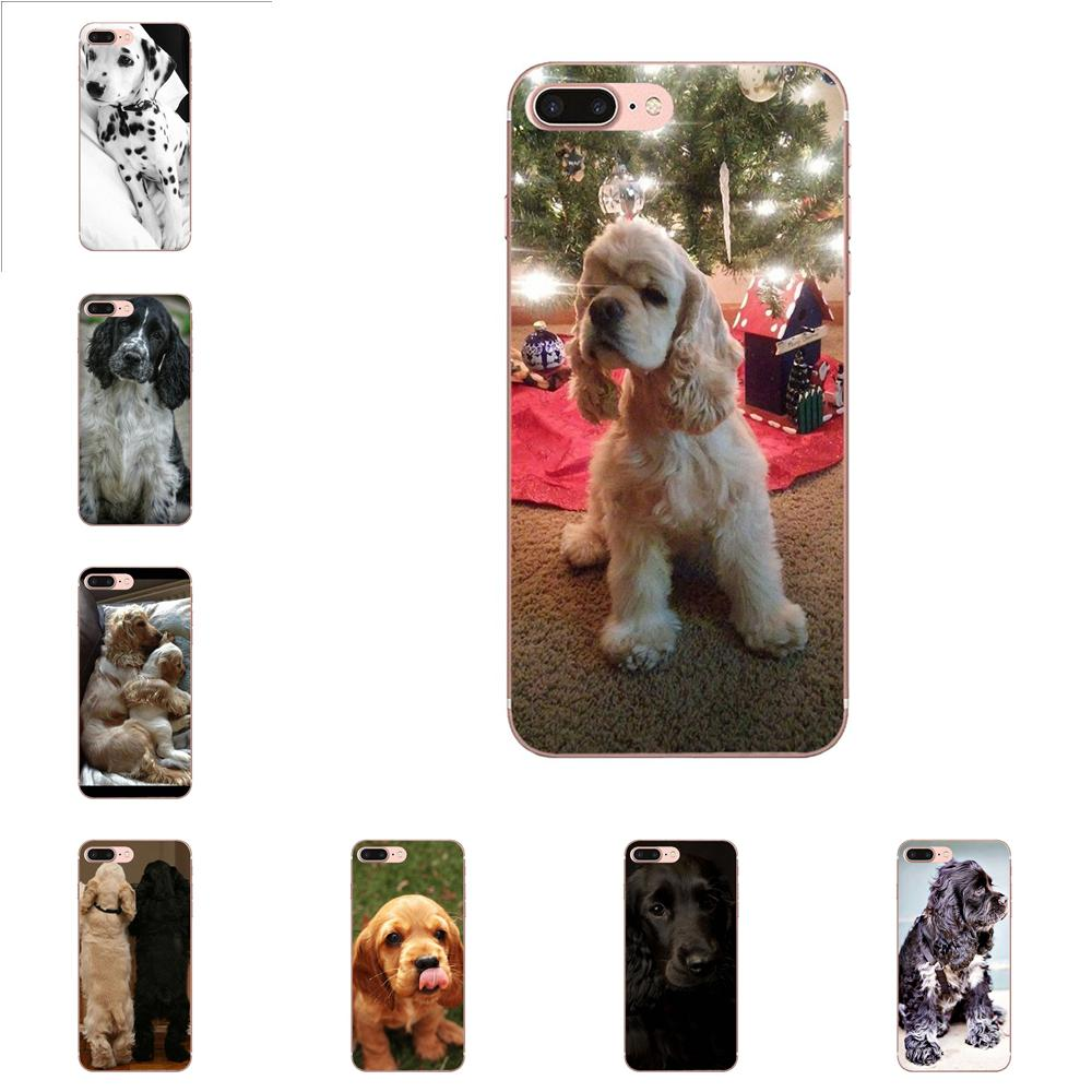 Cocker Spaniels <font><b>Dog</b></font> Puppies 4 For <font><b>Samsung</b></font> <font><b>Galaxy</b></font> J1 J3 J4 J5 J6 J7 A10 A20 A20E <font><b>A3</b></font> A40 A5 A50 A7 2016 <font><b>2017</b></font> 2018 TPU Mobile <font><b>Phone</b></font> image
