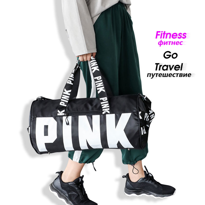 Large Casual Sports Handbag Suitcase Women Men Waterproof Sports Bag Travel For Fitness Crossbody Gym Shoe Bag Laptop Back Pack