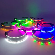 Gafas LED de moda Con luz intermitente, DJ, Bar, fiesta nocturna, disfraz, espectáculo de danza, accesorios de iluminación