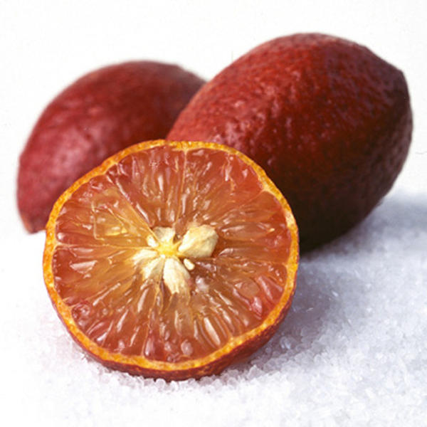 Plant Fruits Bath Salts Red Color Lemon Essence 130Pcs SG-11-A