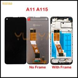 100% Оригинальный ЖК-дисплей для Samsung Galaxy A11 ЖК-дисплей сенсорный экран дигитайзер в сборе для Galaxy A11 A115 A115F/DS A115F A115M
