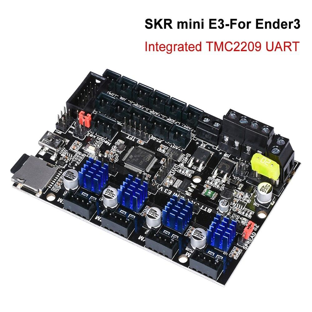 BIGTREETECH SKR mini E3 V1.2 carte de commande 32Bit avec TMC2209 UART Driver 3D imprimante pièces skr v1.3 E3 Dip pour crealité Ender 3